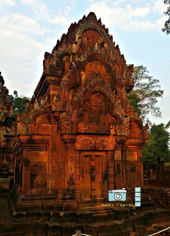 distant temple of Angkor