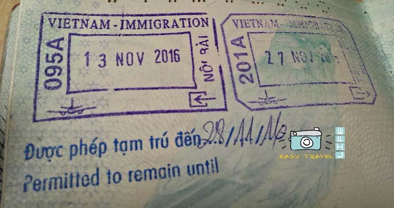 stamp visa