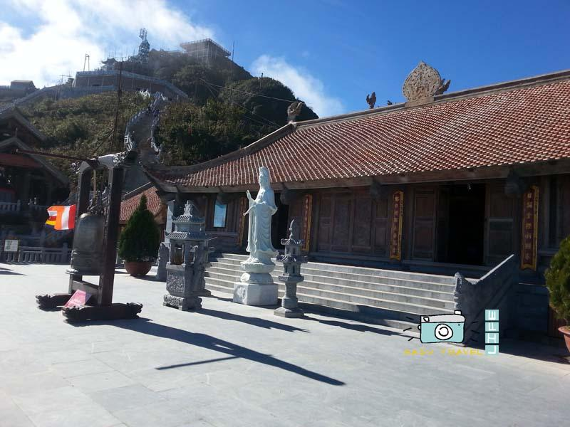 stairs to fansipan mountain