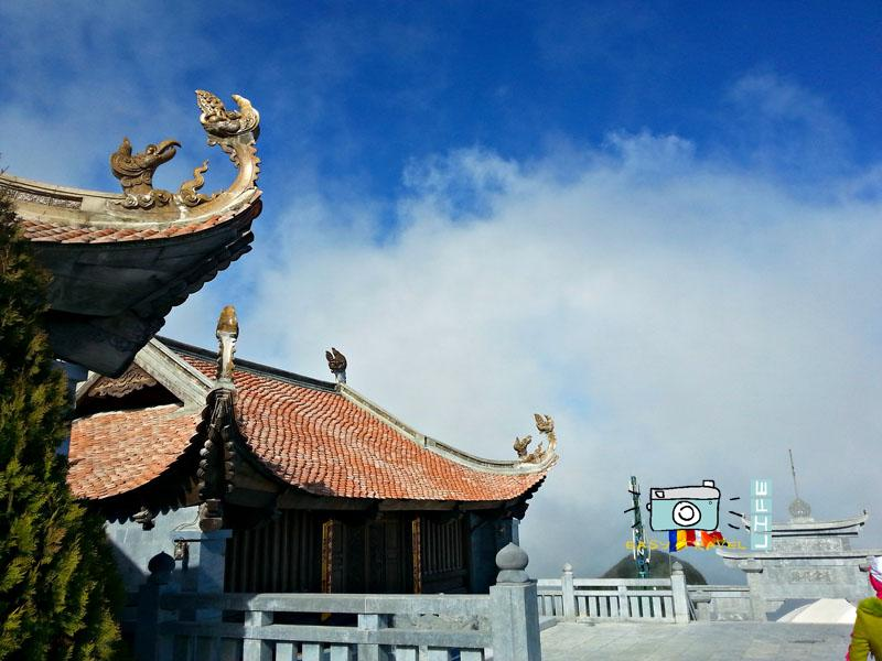 temples in Fansipan mountain