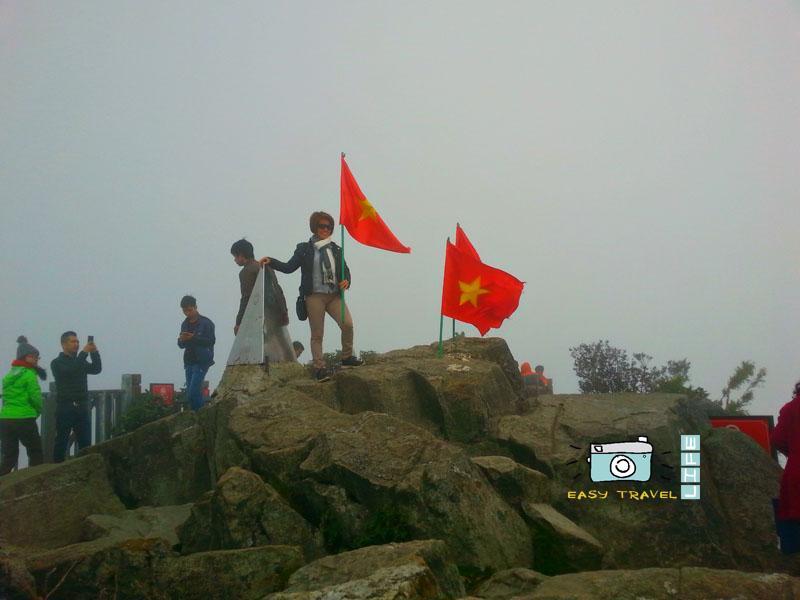 top of Vietnam
