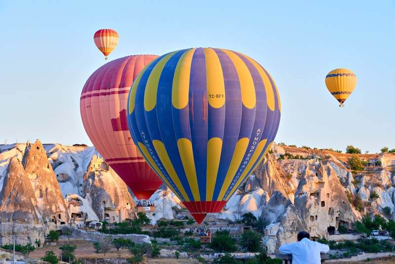 cappadokia air balloon flight