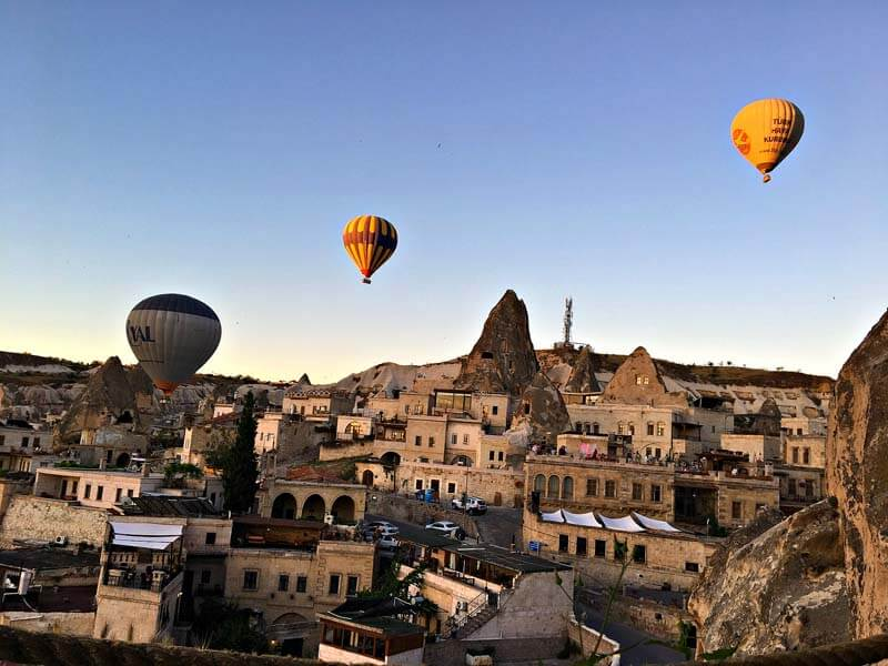 Cappadokia air balloon