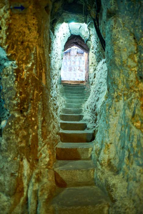 stairs in cave city