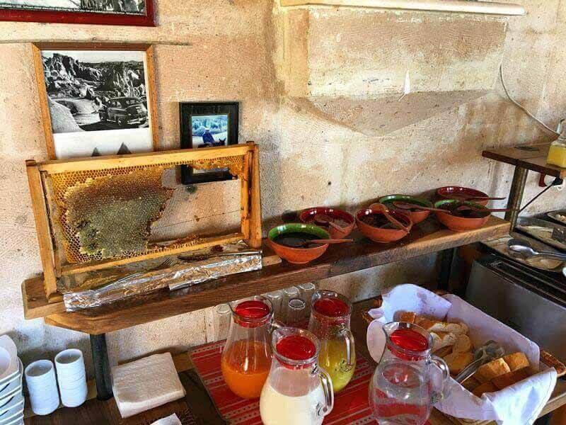 breakfast in Cappadokia