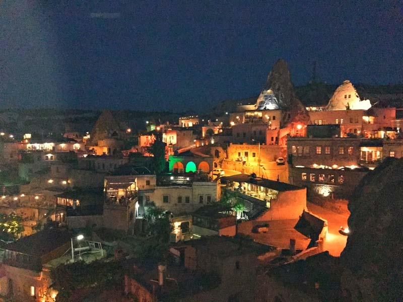 kappadokia night