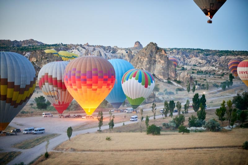 Turkey airballoon