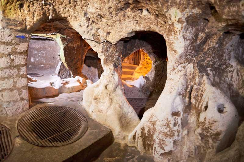 vine room in Derinkuyu