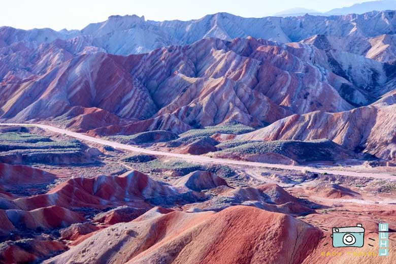 Zhangye Danxia colourfull mountain
