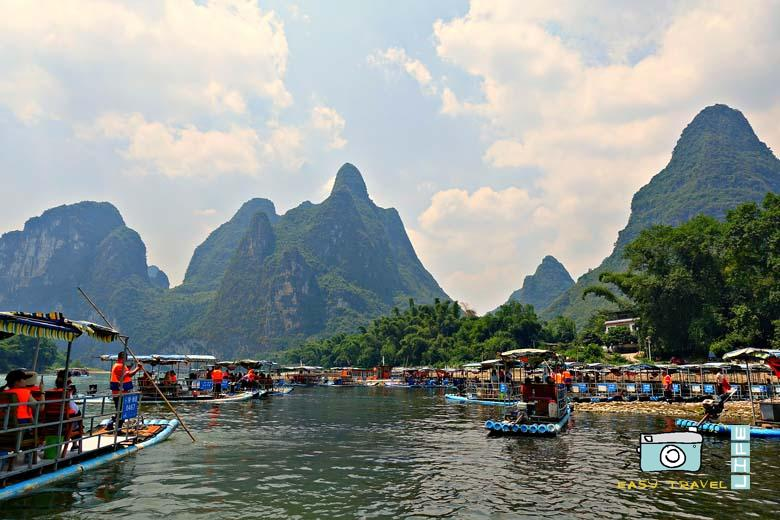 rafting Li River