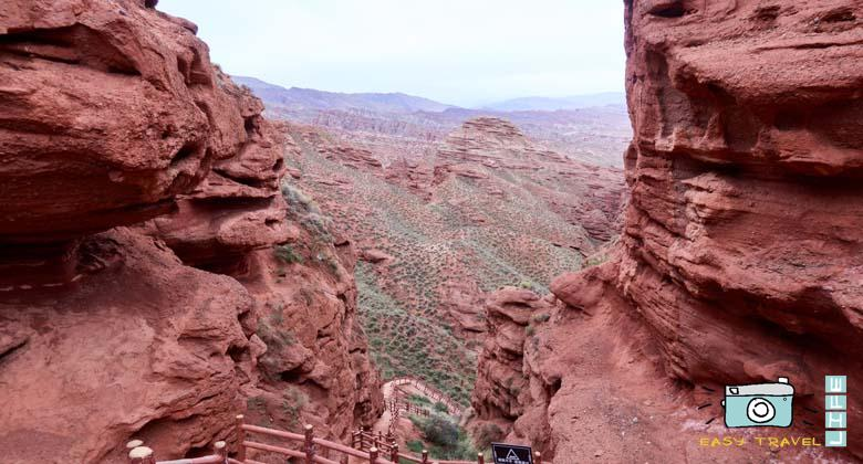 Daxiagu red canyon
