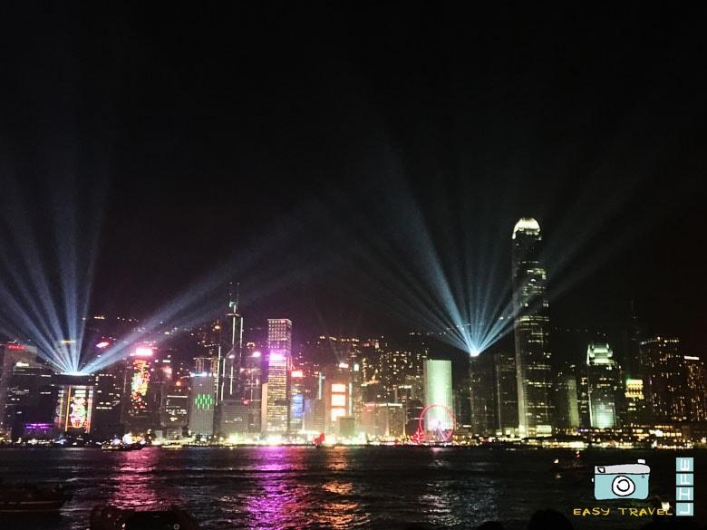 lazer show hong kong